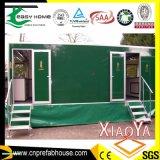Toalete móvel favorável ao meio ambiente com sistema de recicl da água