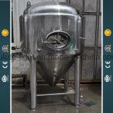 Depósito de fermentación brillante del vinagre del acero inoxidable