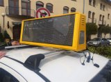 높은 Brightness 5mm Taxi Top Advertizing LED Display