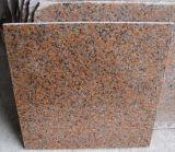 Камень гранита Индии красный, красный гранит, камень Kerb, плитки, гранит