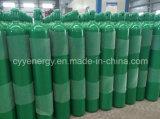 Bombola per gas industriale dell'acciaio senza giunte dell'argon dell'azoto dell'ossigeno ISO9809