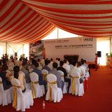Grande tenda di alluminio esterna di evento della festa nuziale