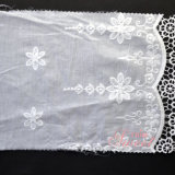 衣類のための花模様のメッシュ生地のギピールレースの刺繍のレース