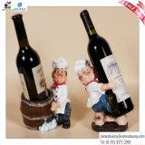 Los hermanos del cocinero del estante del vino de la resina se dirigen artes