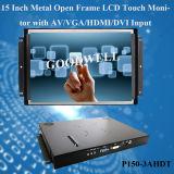 "Монитор LCD открытой рамки 15 металла """