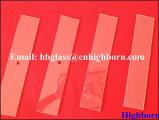 La grande pureté personnalisent la partie en verre de quartz de silice d'alésage