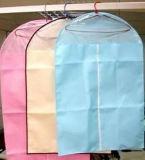 Non сплетенный мешок ткани костюма застежки -молнии одежды (LJ-STB0711)