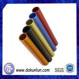 Vário da tubulação de alumínio anodizada cor