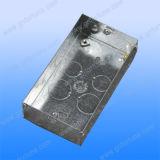 Caixa do soquete do interruptor do metal
