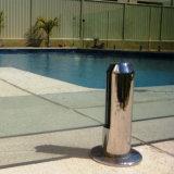 Espita de cristal del vidrio de la cerca SS304 SS316 de la piscina del precio de fábrica