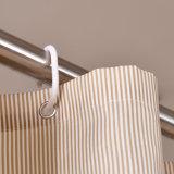 ホテル(17F0056)のための環境に優しい防水100%Polyesterシャワー・カーテン