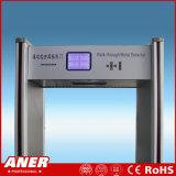 De populairste die Poort van de Veiligheid van de Detector van het Metaal met Afstandsbediening, LCD het Scherm (in fabriek, luchthaven, bank, hotel wordt gebruikt) K508