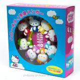 Reizende und praktische Karikatur kleidet Schelle-Spielzeug