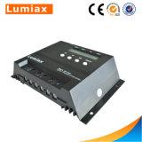 LCD Displayerが付いている48V 30Aの太陽電池パネル電池の料金のコントローラ