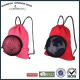 サッカーボールの戦闘状況表示板の球のSH17070809かわいいドローストリングのサッカーボールのバックパック袋