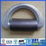 De Gesmede Geselende D-vormige ring van de klem CCS/ABS/Lr Cert