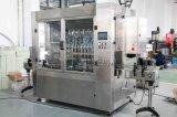 Tipo linear en botella animal doméstico automático máquina de rellenar del aceite de mesa con 12 pistas