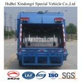 Dongfeng 7-8cbm 쓰레기 압축 분쇄기 쓰레기 트럭