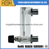 Type compteur de panneau de débit acrylique de l'eau liquide