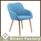 Cadeira simples do lazer da sala de visitas dos pés do metal do estilo novo da tela