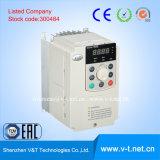 E5-Hのコンパクトな軽量および容易小さい出力領域0.4kw-3.7kwが付いている頻度インバーターをインストールする
