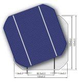 El mono panel solar tamaño pequeño de la energía solar