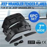 Tj. I chiarori del cuscino ammortizzatore di uso 6PCS hanno impostato per il Wrangler della jeep 97-06