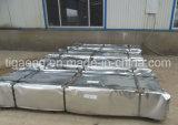Hoja de acero acanalada galvanizada cubierta cinc del material para techos/de pared para África