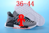 Ботинки желтый Hu бегунка «человеческого общества» Nmd двойного Pharrell коробки укомплектовывают личным составом специальный быть красным цветом идущих ботинок подталкивания Nmds размера 13 Nmd померанцовым черным