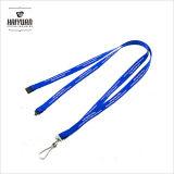 lanières bleues de polyester fournies par usine de largeur de 10mm pour la promotion
