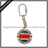 Key di filatura Ring con Printed Logo Sia Side (BYH-10673)