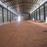 Prefabricada de acero ligero Taller cobertizo de metal para Argelia