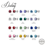 De Kristallen van de Juwelen van het lot van de Oorringen van Swarovski Macaron