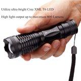 Streamlight 88850 Polytac LED Taschenlampe mit den Lithium-Batterien, schwarz