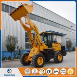 Le mini chargeur les machines de terrassement Chine de chargeur de frontal de chargeur de roue de 2 tonnes a fait le prix