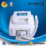 Beweglicher Q-Schalter Nd YAG Laser für Tätowierung-Abbau/das Haut-Weiß werden
