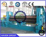 máquina de dobra hidráulica da placa de 3 rolos com pitada dobro W11S-10X3000