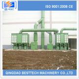 Collettori di polveri 100% orizzontali industriali di garanzia della qualità