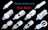 Ampola energy-saving da forma 3000h E27/B22 220-240V de CFL 15W 18W 23W 2u 3u