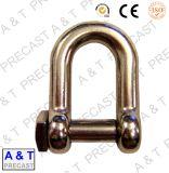 Matériel de gréement / Matériel de bateaux / 316/304 Stainless Steel European D Shackle Parts
