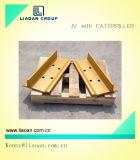 D80トラック靴のブルドーザーの下部構造の部品