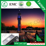Cinco luz solar ligera casera solar de los colores IP68 para el hogar