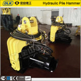 Martelo de pilha hidráulico montado máquina escavadora do martelo do Vibro da alta qualidade