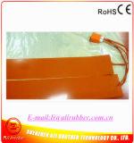 """5 """" X24 """" cobertor de calor de dobra lateral do Ukulele do calefator do silicone de 520W 220V"""