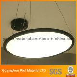 weißes Polystyrene/PS Diffuser- (Zerstäuber)blatt der 1.5mm Stärken-für LED-Lampen-Beleuchtung