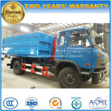 Dongfeng 4X2 10t 훅 팔 쓰레기 Trcuk는 팔 10 톤 트럭을 복사한다