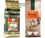 Flache Unterseiten-mit Reißverschluss Beutel-Aluminiumfolie-Beutel-Kaffee-Beutel mit Ventil