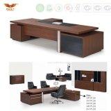 Projeto moderno L executivo mobília de escritório da tabela de trabalho do escritório da forma (HY-896)