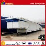 La suspension d'air de bâti de remorque a entouré la remorque de véhicule de transport de transporteur semi