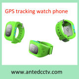 Sos ButtonのKids /Elderlyのための最もよいGPS Tracker Watch Phone